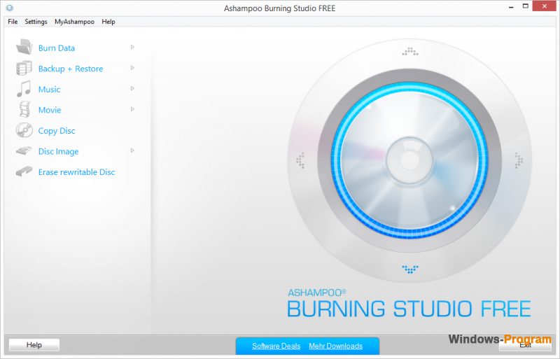 Ashampoo Burning Studio 2015 1.15.3 Free