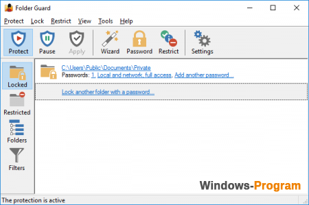 Folder Guard Professional 10.3.0.2294 Rus + Crack + торрент