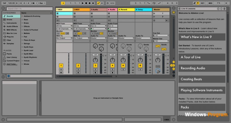 Ableton Live Suite 9.7.3 + Crack + торрент