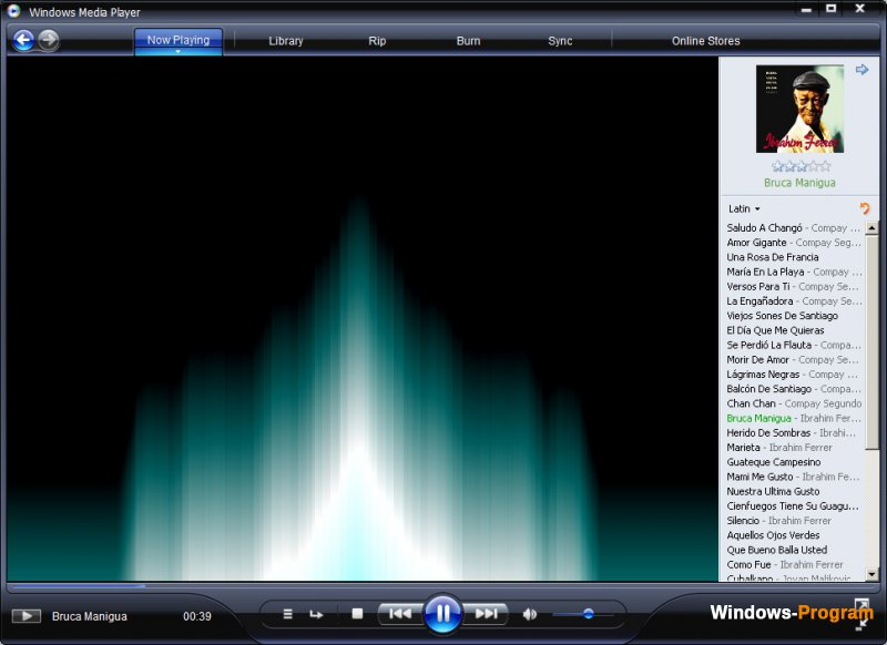 Windows Media Player 11.0.5721.5230