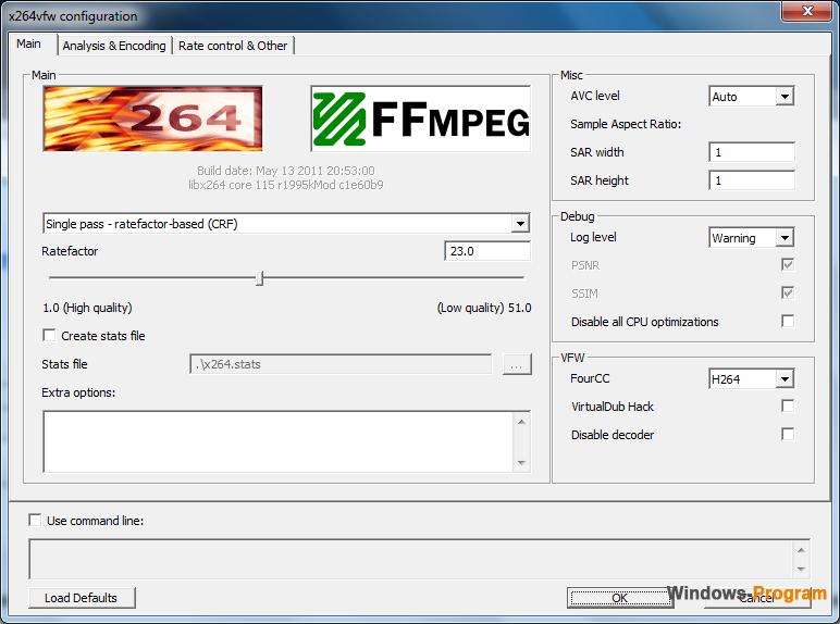 Скачать кодеки для сжатия файлов