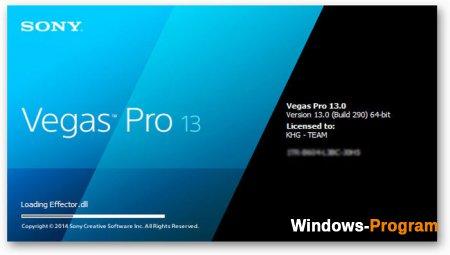 Sony Vegas Pro 03.0 + Crack + торрент