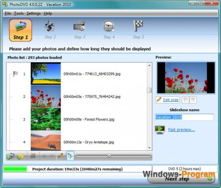 PhotoDVD 4.0.0.37 + Portable + Serial Key + торрент
