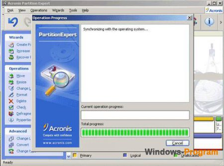 Acronis Partition Expert 2003 Build 282 + Serial + торрент