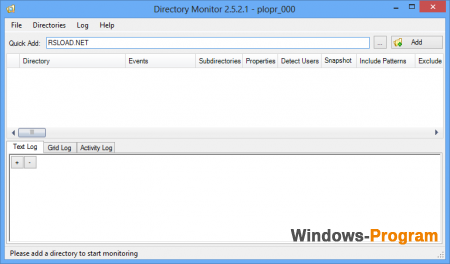 Directory Monitor 2.12.0.2